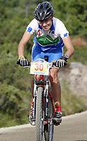 Sykkel , 20 August 2005 , Birkebeinerrittet ,<br /> UCI Mountain Bike Marathon , World Championships ,<br /> Lillehammer - Norway ,<br /> <br /> Blaza Klemencic , SVN ble nr . to
