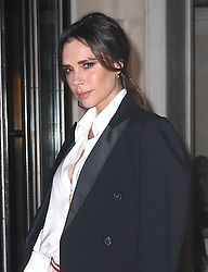 Victoria Beckham out and about in New York. 24 Jan 2019 Pictured: Victoria Beckham. Photo credit: MEGA TheMegaAgency.com +1 888 505 6342