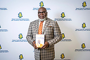 Master communicator, multidimensional businessman and international thought leader T.D. Jakes at North Carolina Agricultural and Technical State University's spring Chancellor's Speaker Series on Thursday, April 11, 2019.<br /> <br /> (Chris English/Tigermoth Creative)
