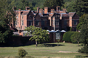Chequers, the country residence of the Prime Minister of the United Kingdom, is pictured on 30th July 2020 in Ellesborough, United Kingdom. Built in the 16th century, Chequers is located around 40 miles north-west of central London on the northern edge of the Chiltern hills.