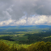 """""""Farms of Shenandoah Valley""""<br /> <br /> Beautiful mountains and valley scene in Shenandoah National Park!<br /> <br /> The Blue Ridge Mountains by Rachel Cohen"""