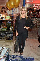 PIPS TAYLOR at a party to celebrate the launch of Baar & Bass, 336 Kings Road, London on 9th September 2014.