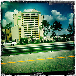 On the I-4. Orlando holiday 2012. Photo taken with the Hipstamatic photo application on Apple iPhone 4.