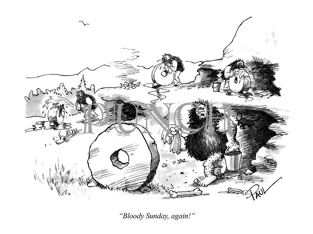 """Bloody Sunday, again!"""