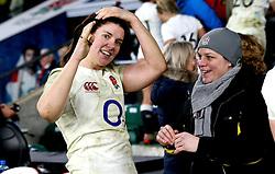 Sarah Hunter (c) of England - Mandatory by-line: Robbie Stephenson/JMP - 04/02/2017 - RUGBY - Twickenham - London, England - England v France - Women's Six Nations
