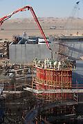 Alahamah, UAE, Feb 09, 2010, Alahamah waste water treatment plant. PHOTO © Christophe Vander Eecken