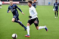 Fotball , 3. mars 2017 , Privatkamp<br /> Odd - Viking<br /> Michael Ledger , Viking <br /> Rafik Zekhnini , Odd