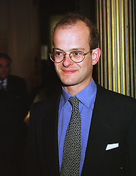 LORD NICHOLAS WINDSOR son of the Duke of Kent, at an exhibition in London on 10th June 1999.MTB 44