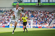 Rebekah Stott (New Zealand) during the FIFA Women's World Cup UEFA warm up match between England Women and New Zealand Women at the American Express Community Stadium, Brighton and Hove, England on 1 June 2019.