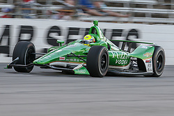 June 9, 2018 - Fort Worth, Texas, U.S - Ed Carpenter Racing driver Spencer Pigot (21) of United States in action during the DXC Technology 600 race at Texas Motor Speedway in Fort Worth,Texas. (Credit Image: © Dan Wozniak via ZUMA Wire)
