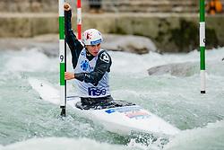 Gabriela SATKOVA (CZE) during Canoe Semi Finals at World Cup Tacen, 18 October 2020, Tacen, Ljubljana Slovenia. Photo by Grega Valancic / Sportida