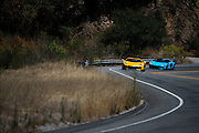 August 14-16, 2012 - Lamborghinis at Pebble Beach: Lamborghini Aventadors