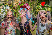 Catherine Walker Floral Fashion