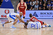 DESCRIZIONE : Eurolega Euroleague 2015/16 Group D Dinamo Banco di Sardegna Sassari - Brose Basket Bamberg<br /> GIOCATORE : Jarvis Varnado Daniel Theis<br /> CATEGORIA : Palla Contesa A Terra<br /> SQUADRA : Dinamo Banco di Sardegna Sassari<br /> EVENTO : Eurolega Euroleague 2015/2016<br /> GARA : Dinamo Banco di Sardegna Sassari - Brose Basket Bamberg<br /> DATA : 13/11/2015<br /> SPORT : Pallacanestro <br /> AUTORE : Agenzia Ciamillo-Castoria/L.Canu