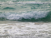 close up of surf Atlantic ocean at Miami Beach