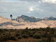Windmill at Wilpena Pound, Flinders Ranges, South Australia, Australia