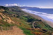 The Sand Ladder Trail, Fort Funston, San Francisco, California