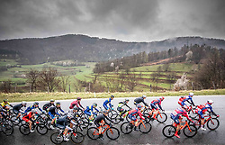 Peloton at Metlika during cycling race 5th Grand Prix Adria Mobil, on April 7, 2019, in Slovenia. Photo by Vid Ponikvar / Sportida