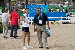 Leprevost Peneope, FRA, Prudent Henri, FRA<br /> Olympic Games Rio 2016<br /> © Hippo Foto - Dirk Caremans<br /> 16/08/16