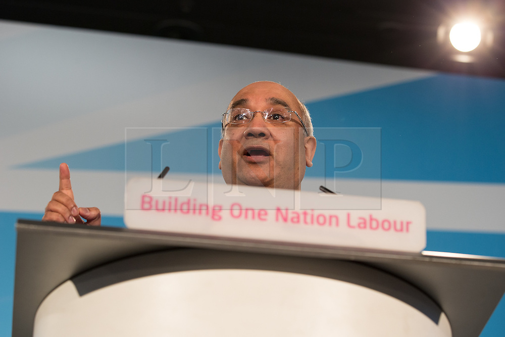 """© Licensed to London News Pictures . 01/03/2014 . London , UK . KEITH VAZ . The Labour Party hold a one day """" Special Conference """" at the Excel Centre in London today (Saturday 1st March 2014) . Photo credit : Joel Goodman/LNP"""