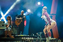 Anita durante a 25ª edição do Planeta Atlântida. O maior festival de música do Sul do Brasil ocorre nos dias 31 Janeiro e 01 de fevereiro, na SABA, praia de Atlântida, no Litoral Norte do Rio Grande do Sul. FOTO: <br /> Diego Vara/ Agência Preview