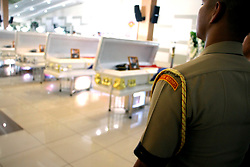 June 12, 2017 - Taguig City, Philippines - The family, friends and members of marines giving a last salute and honor to the fallen ten soldiers (marines) for their selfless service to the country and protection of its peoples during the mass inside Acero Hall at Marine Barracks Rudiardo Brown, Fort Bonifacio in Taguig City on June 12, 2017. The marines died during their battle in Marawi City , Mindanao versus the Maute terrorist group and supporters of ISIS. (Credit Image: © Gregorio B. Dantes Jr/Pacific Press via ZUMA Wire)