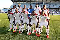 Equipe Burkina Faso - 29.05.20154 - Selection Corse / Burkina Faso - match amical<br /> Photo : Michel Maestracci / Icon Sport