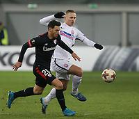 LVIV, UKRAINE - DECEMBER 07: Aritz Aduriz of Athletic Bilbao.  UEFA Europa League Group J match between Zorya Luhansk and Athletic Bilbao at Arena Lviv in Lviv, Ukraine. December 07, 2017