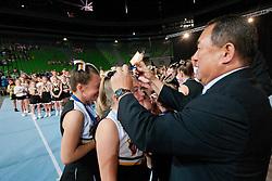 Setsuo Nakamura of Japan, president of International Federation of Cheerleading, at European Cheerleading Championship 2011, on July 2, 2011, in SRC Stozice, Ljubljana, Slovenia (Photo by Matic Klansek Velej / Sportida)