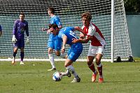 Sam Walker. Stockport County 0-2 Fleetwood Town. Pre-Season Friendly. 15.8.20