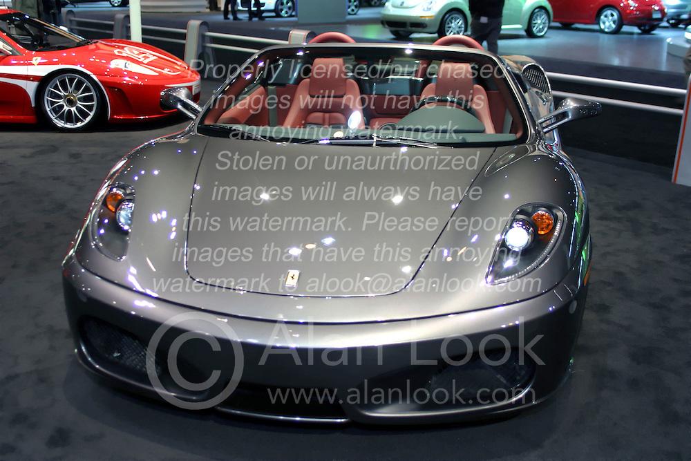09 February 2006:  Ferrari F430 Spyder convertible.....Chicago Automobile Trade Association, Chicago Auto Show, McCormick Place, Chicago IL