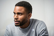 NEW YORK, NY -- 6/6/17 -- Nnamdi Asomugha, stars in the new film Crown Heights, based on the life of Colin Warner, who was wrongly incarcerated for over 20 years. Asomugha plays his best friend, Carl King in the film, which won the Audience Award at Sundance. The film is to be released August 25.…by André Chung #_AC18763