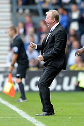 Derby County Manager, Steve McClaren cuts a frustrated figure - Photo mandatory by-line: Dougie Allward/JMP - Mobile: 07966 386802 30/08/2014 - SPORT - FOOTBALL - Derby - iPro Stadium - Derby County v Ipswich Town - Sky Bet Championship