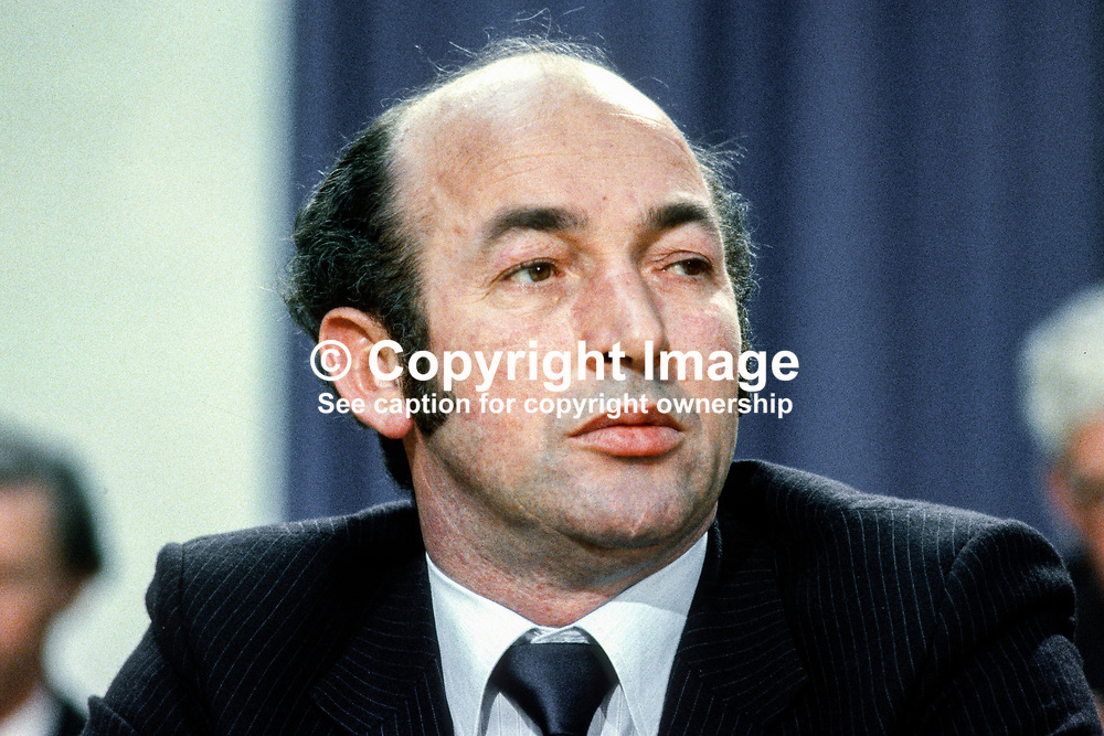 Lorcan Allen, TD, Minister of State, Agriculture, Rep of Ireland, April, 1980, 198004004591<br /><br />Copyright Image from images4media.com (or the named photographer)