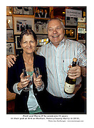 Paidi and Maire  OSe in their pub in Ventry.. Picture by Don MacMonagle