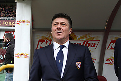 February 18, 2018 - Turin, Italy - Torino coach Walter Mazzarri during the Serie A football match n.25 TORINO - JUVENTUS on 18/02/2018 at the Stadio Olimpico Grande Torino in Turin, Italy. (Credit Image: © Matteo Bottanelli/NurPhoto via ZUMA Press)