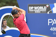 Adrian Otaegui (ESP) on the 16th fairway during the 3rd round of the DP World Tour Championship, Jumeirah Golf Estates, Dubai, United Arab Emirates. 17/11/2018<br /> Picture: Golffile | Fran Caffrey<br /> <br /> <br /> All photo usage must carry mandatory copyright credit (© Golffile | Fran Caffrey)