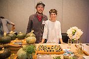 DILL, Anethum graveolens Showcase: 'Sighisoara Blue'<br /> Seed Source/Grower: Uprising Seeds Chef: Erica Jennings, Uprising Seeds Dish: Dill Mascarpone-filled Prunes