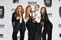 November 4, 2018 - Bilbao, Bizkaia, Spanien - Jade Thirlwall, Jesy Nelson, Perrie Edwards und Leigh-Anne Pinnock von Little Mix bei der Verleihung der MTV European Music Awards 2018 in der Bizkaia Arena. Bilbao, 04.11.2018 (Credit Image: © Future-Image via ZUMA Press)