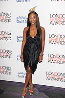 Alexandra Burke, London Lifestyle Awards 2014, The Troxy, London UK, 08 October 2014, Photo By Brett D. Cove