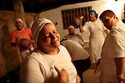 Feast in Ochun's and Yemaja's honour, orishas, santeria gods, in Valencia, Venezuela.