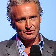 NLD/Hilversum/20120821 - Perspresentatie 3de seizoen The Voice of Holland 2012 / 2013, Rtl directeur Erland Galjaard
