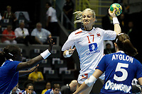 20111218: SAO PAULO, BRAZIL - Player Sulland (NOR) and  Ayglon (FRA)  at France vs Norway final match of the XX World Handball<br /> PHOTO: CITYFILES
