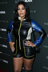HOLLYWOOD, LOS ANGELES, CA, USA - NOVEMBER 14: Fashion Nova x Cardi B Collaboration Launch Event held at Boulevard3 on November 14, 2018 in Hollywood, Los Angeles, California, United States. 14 Nov 2018 Pictured: Mehgan James. Photo credit: Xavier Collin/Image Press Agency/MEGA TheMegaAgency.com +1 888 505 6342