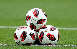 July 3, 2018 - Moscow, Russia - Round of 16 England v Colombia - FIFA World Cup Russia 2018.The official balls telestar at Spartak Stadium in Moscow, Russia on July 3, 2018. (Credit Image: © Matteo Ciambelli/NurPhoto via ZUMA Press)