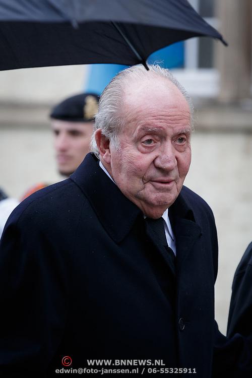LUX/Luxemburg/20190504 -  Funeral<br /> of HRH Grand Duke Jean, Uitvaart Groothertog Jean, koning Juan Carlos van Spanje