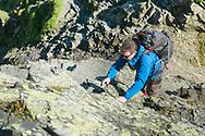 Ascending Foule Crag