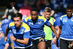 Victor Adeboyejo of Bristol Rovers during the warm up - Mandatory by-line: Arron Gent/JMP - 21/09/2019 - FOOTBALL - Cherry Red Records Stadium - Kingston upon Thames, England - AFC Wimbledon v Bristol Rovers - Sky Bet League One