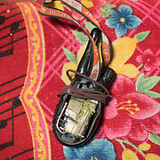 """2 way radio. Camp at a Wakhi high pasture names """"Warm"""", below Garumdee Pass. Guiding and photographing Paul Salopek while trekking with 2 donkeys across the """"Roof of the World"""", through the Afghan Pamir and Hindukush mountains, into Pakistan and the Karakoram mountains of the Greater Western Himalaya."""
