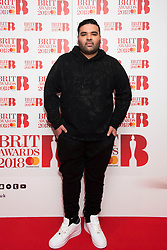 EDITORIAL USE ONLY XXXX Naughty Boy attending the Brit Awards 2018 Nominations event held at ITV Studios on Southbank, London. Photo credit should read: David Jensen/EMPICS Entertainment